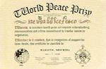1998年11月 国連世界平和賞