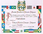 1998年10月 ブラジル共和国 コマンドール勲章