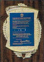 1997年 12月 世界平和功労大騎士勲章