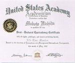 1997年6月 国際学士院名誉会員(フェロー)